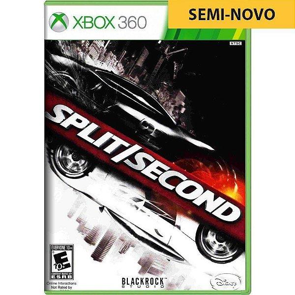 Jogo Split Second - Xbox 360 (Seminovo)