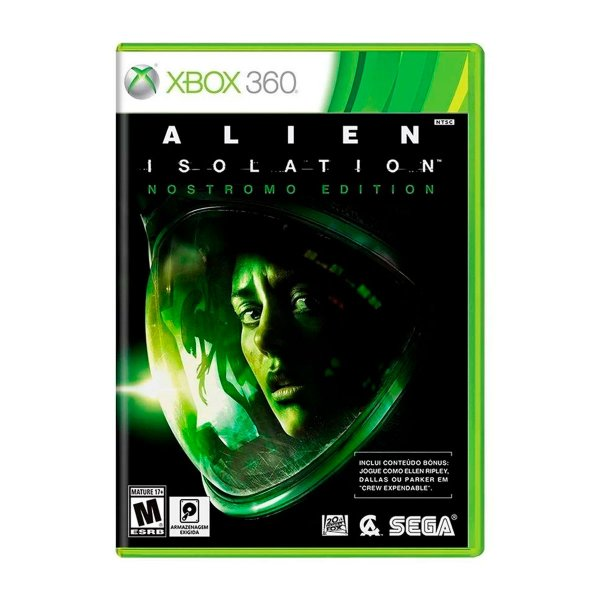 Jogo Alien Isolation - Xbox 360 (Seminovo)