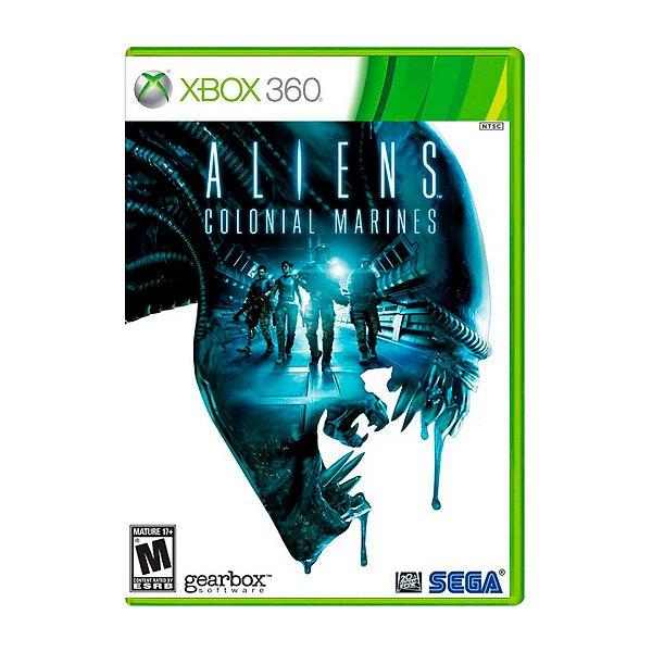 Jogo Aliens Colonial Marines - Xbox 360 (Seminovo)