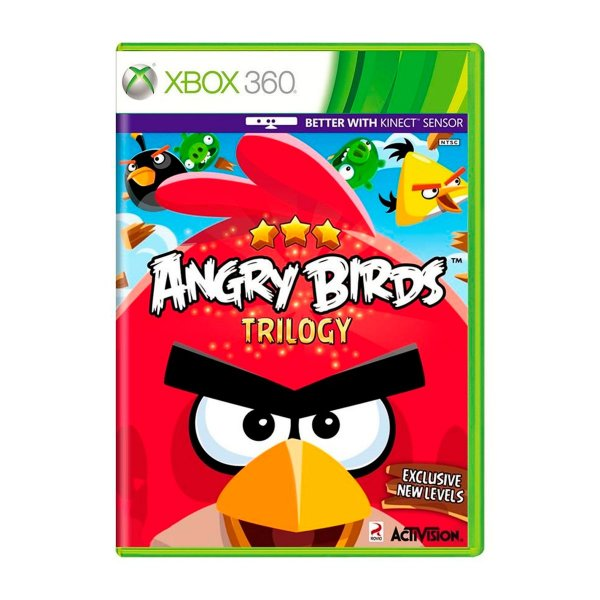 Jogo Angry Birds Trilogy - Xbox 360 (Seminovo)