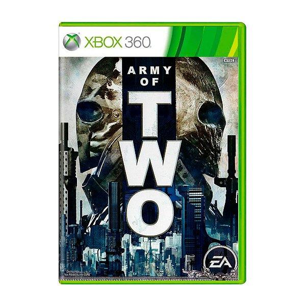 Jogo Army of Two - Xbox 360 Seminovo