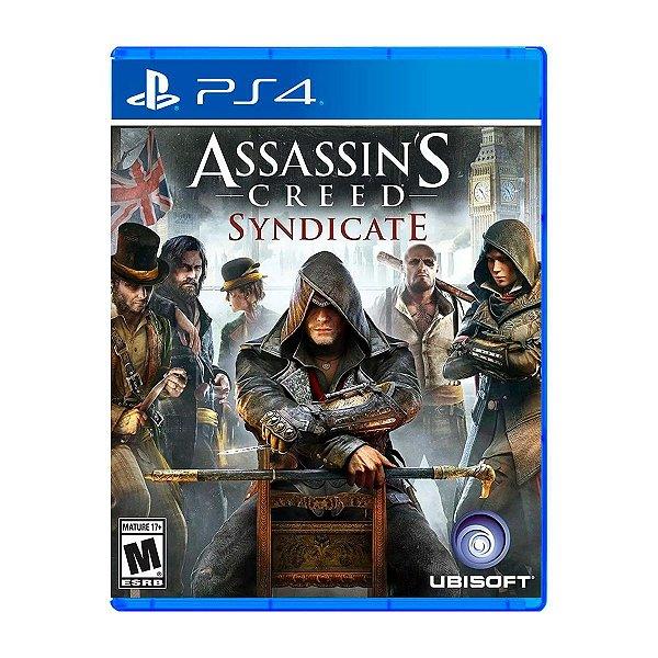 Jogo Assassins Creed Syndicate - PS4 Seminovo