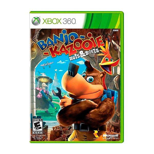 Jogo Banjo Kazooie Nuts & Bolts - Xbox 360 Seminovo