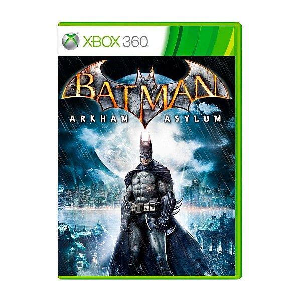 Jogo Batman Arkham Asylum - Xbox 360 Seminovo