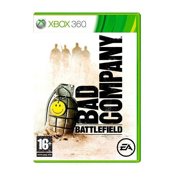 Jogo Battlefield Bad Company - Xbox 360 (Seminovo)