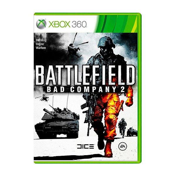 Jogo Battlefield Bad Company 2 - Xbox 360 (Seminovo)