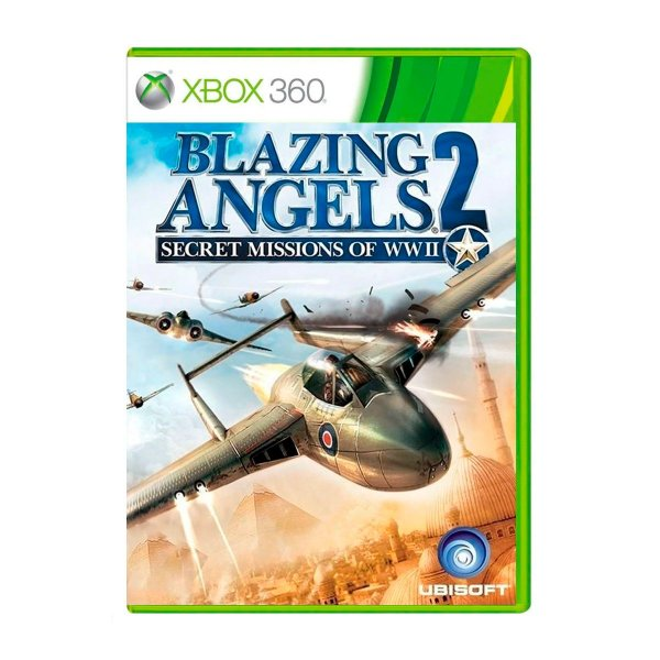 Jogo Blazing Angels 2 Secret Missions of WWII - Xbox 360 (Seminovo)