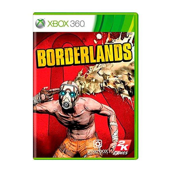 Jogo Borderlands - Xbox 360 Seminovo