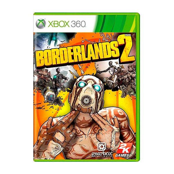 Jogo Borderlands 2 - Xbox 360 (Seminovo)