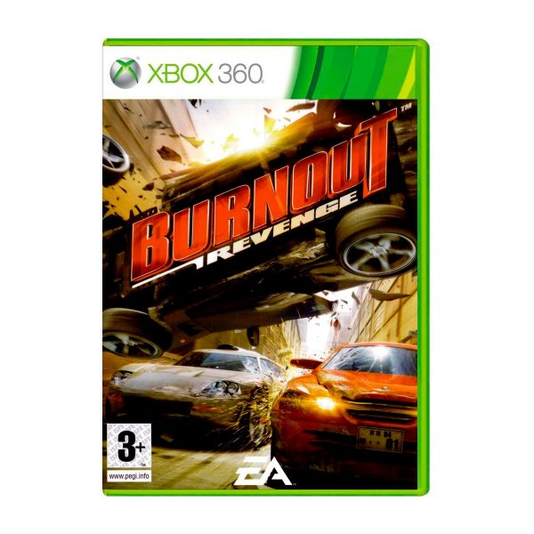Jogo Burnout Revenge - Xbox 360 Seminovo