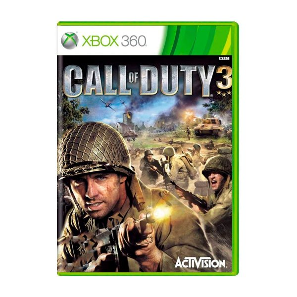 Jogo Call of Duty 3 - Xbox 360 (Seminovo)