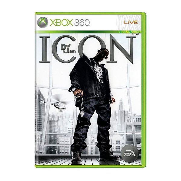 Jogo Def Jam Icon - Xbox 360 Seminovo