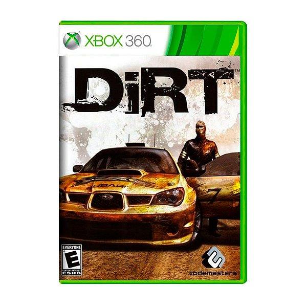 Jogo Dirt - Xbox 360 Seminovo