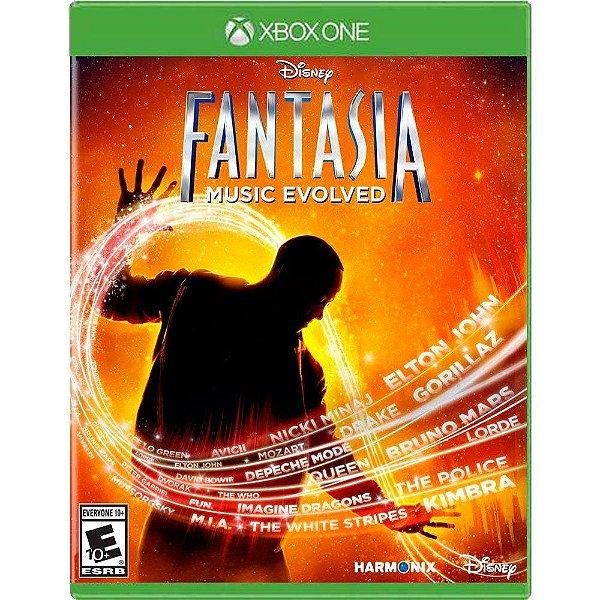 Jogo Disney Fantasia Music Evolved - Xbox One