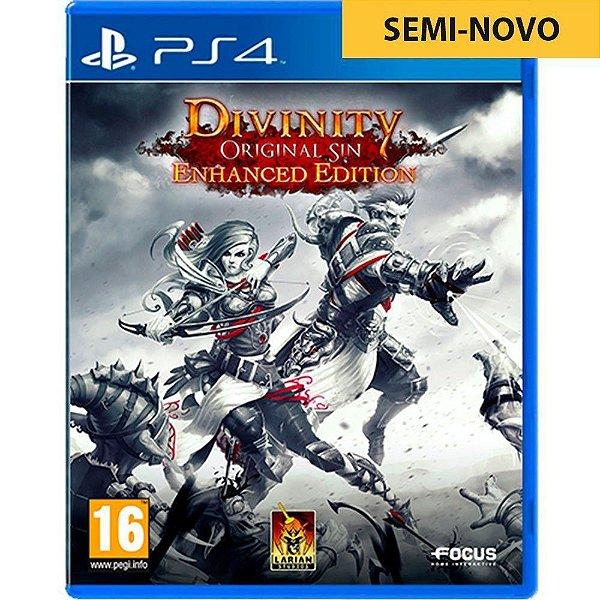 Jogo Divinity Original Sin Enhanced Edition - PS4 Seminovo