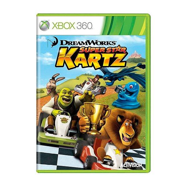 Jogo DreamWorks Super Star Kartz - Xbox 360 Seminovo