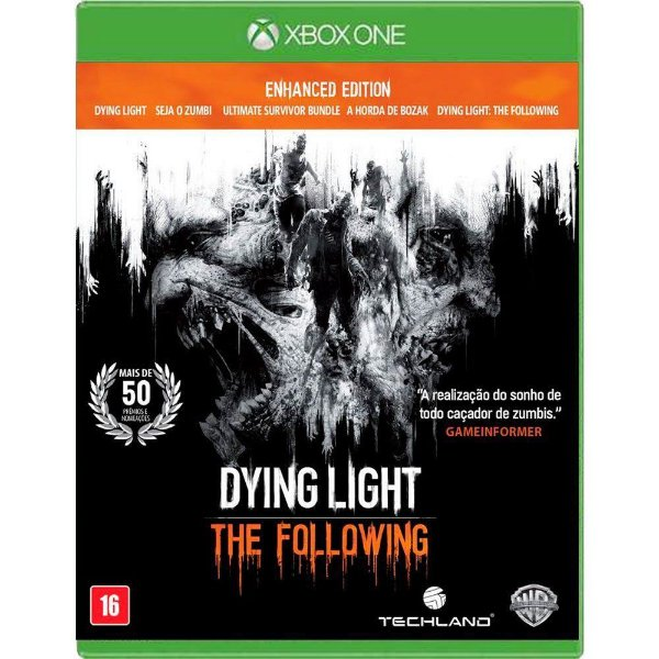 Jogo Dying Light The Following Enhanced Edition - Xbox One