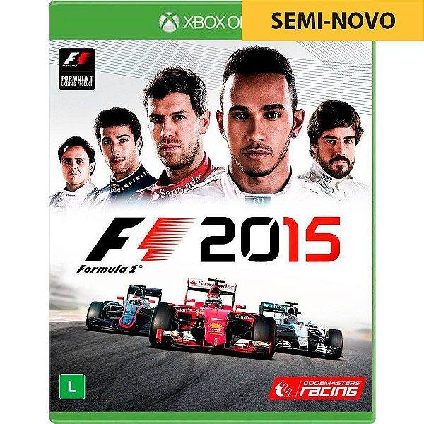 Jogo F1 2015 - Xbox One Seminovo