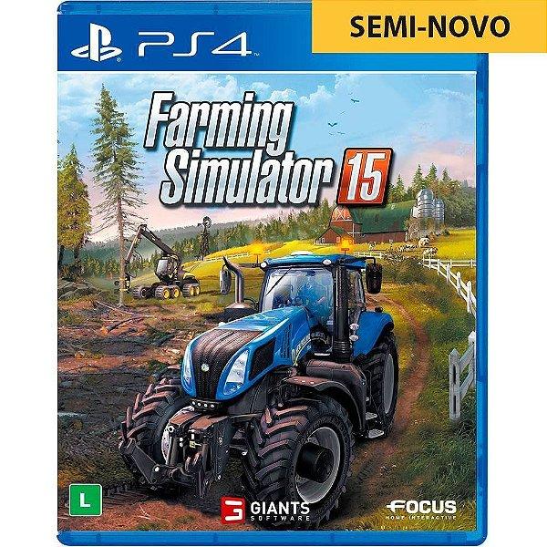 Jogo Farming Simulator 15 - PS4 Seminovo