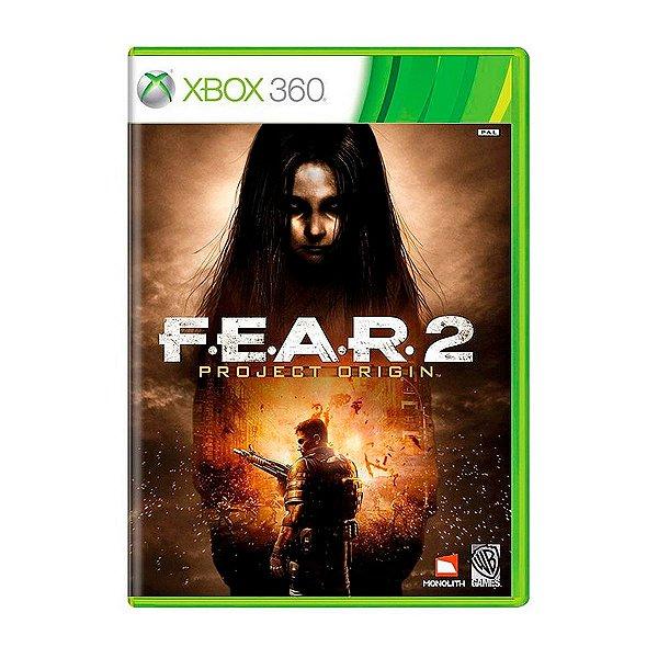 Jogo FEAR 2 Project Origin - Xbox 360 Seminovo