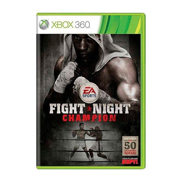 Jogo Fight Night Champion - Xbox 360 Seminovo