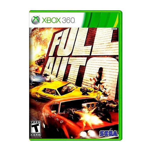 Jogo Full Auto - Xbox 360 Seminovo