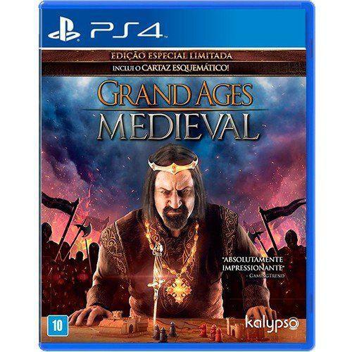 Jogo Grand Ages Medieval - PS4