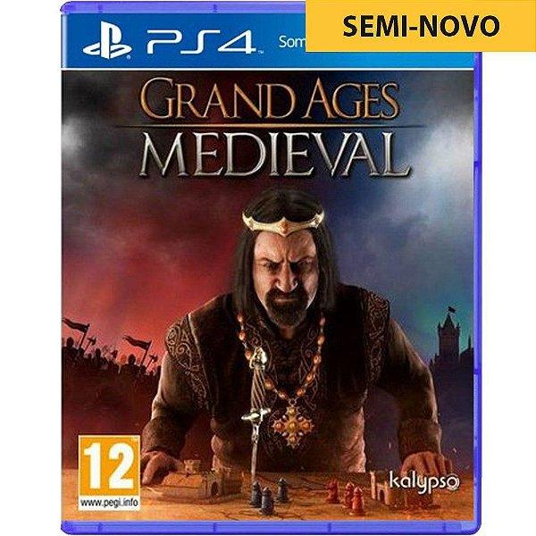 Jogo Grand Ages Medieval - PS4 Seminovo