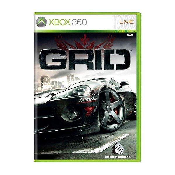 Jogo GRID - Xbox 360 Seminovo