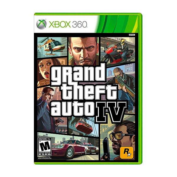 Jogo GTA IV - Xbox 360 Seminovo
