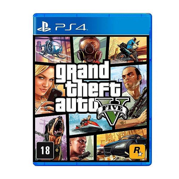 Jogo GTA V - PS4 Seminovo