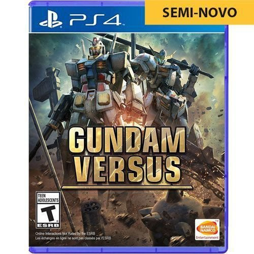 Jogo Gundam Versus - PS4 Seminovo