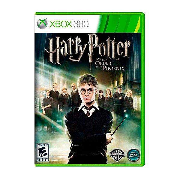 Jogo Harry Potter and The Order of The Phoenix - Xbox 360 Seminovo