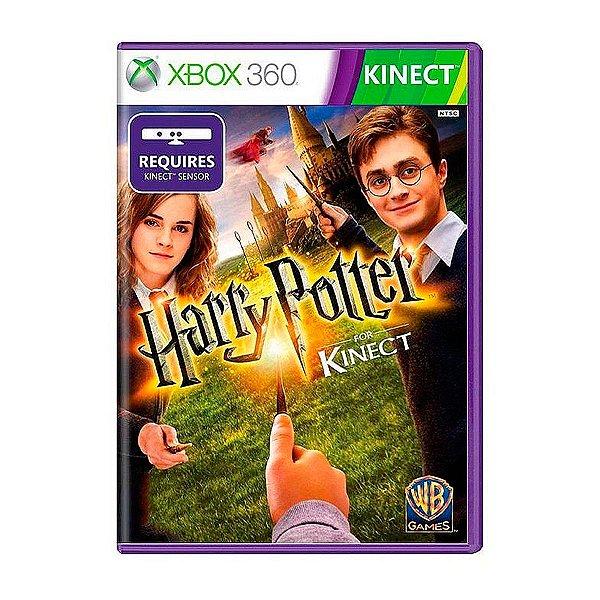 Jogo Harry Potter Kinect - Xbox 360 Seminovo