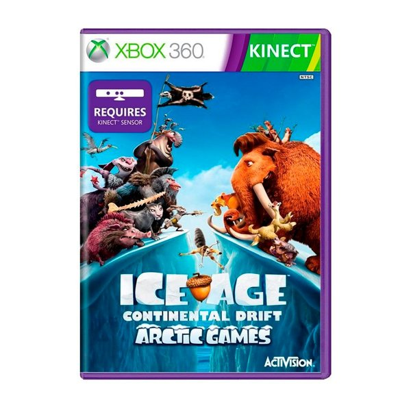 Jogo Ice Age Continental Drift - Xbox 360 Seminovo