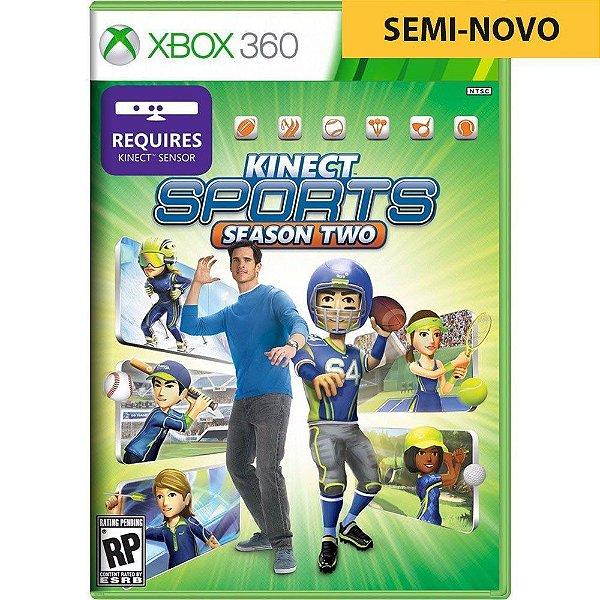 Jogo Kinect Sports Season Two - Xbox 360 (Seminovo)