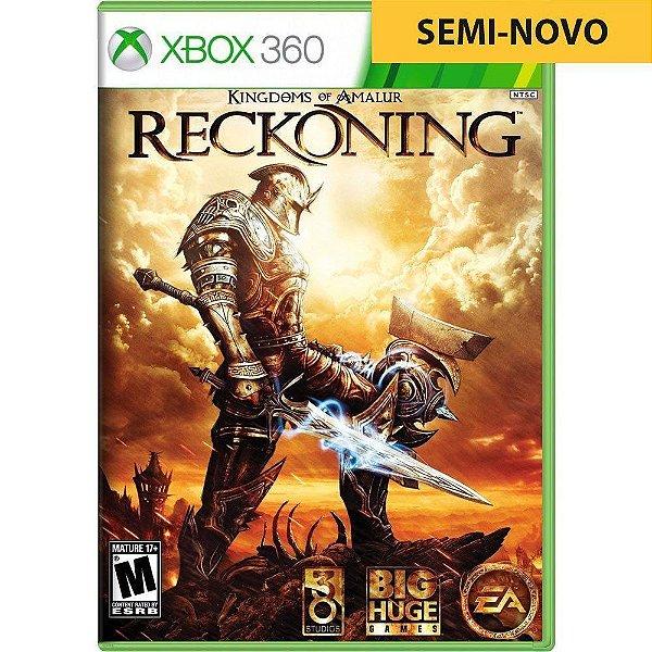 Jogo Kingdoms of Amalur Reckoning - Xbox 360 (Seminovo)