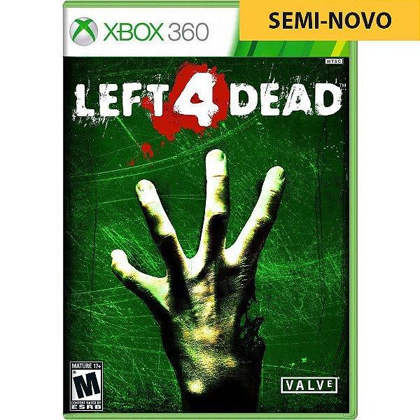 Jogo Left 4 Dead - Xbox 360 (Seminovo)
