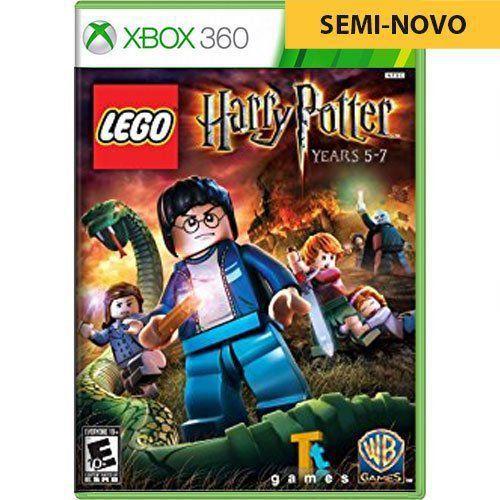 Jogo LEGO Harry Potter Years 5-7 - Xbox 360 (Seminovo)