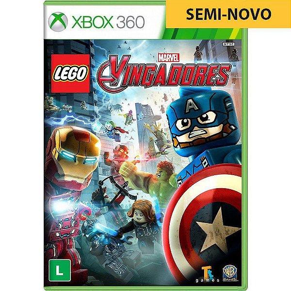 Jogo LEGO Marvel Avengers - Xbox 360 (Seminovo)
