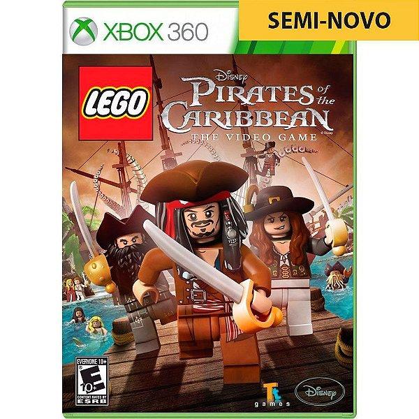 Jogo LEGO Piratas do Caribe - Xbox 360 Seminovo