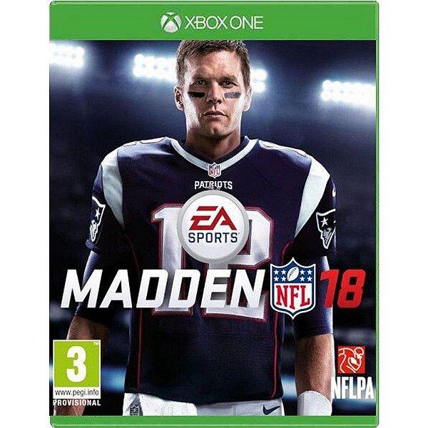 Jogo Madden NFL 18 - Xbox One