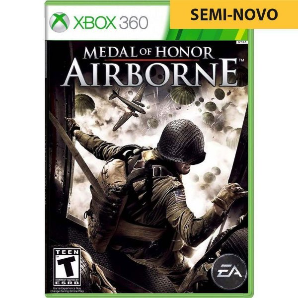 Jogo Medal of Honor Airborne - Xbox 360 (Seminovo)