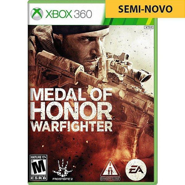 Jogo Medal of Honor Warfighter - Xbox 360 (Seminovo)