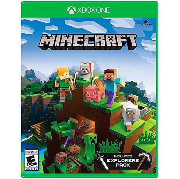 Jogo Minecraft Explorers Pack - Xbox One