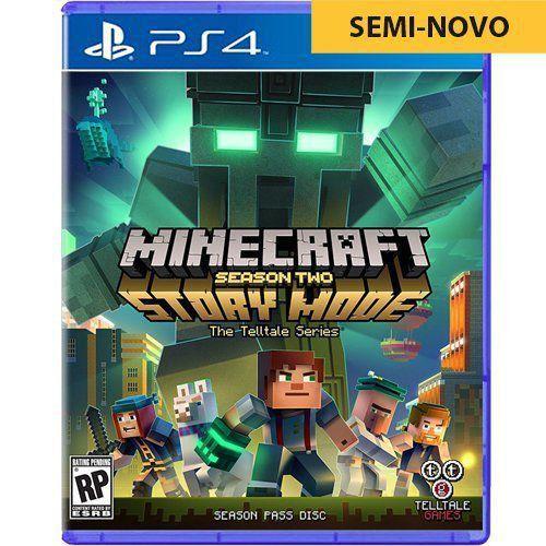 Jogo Minecraft Story Mode Season Two - PS4 Seminovo