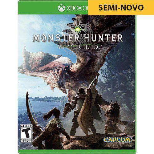 Jogo Monster Hunter World - Xbox One Seminovo