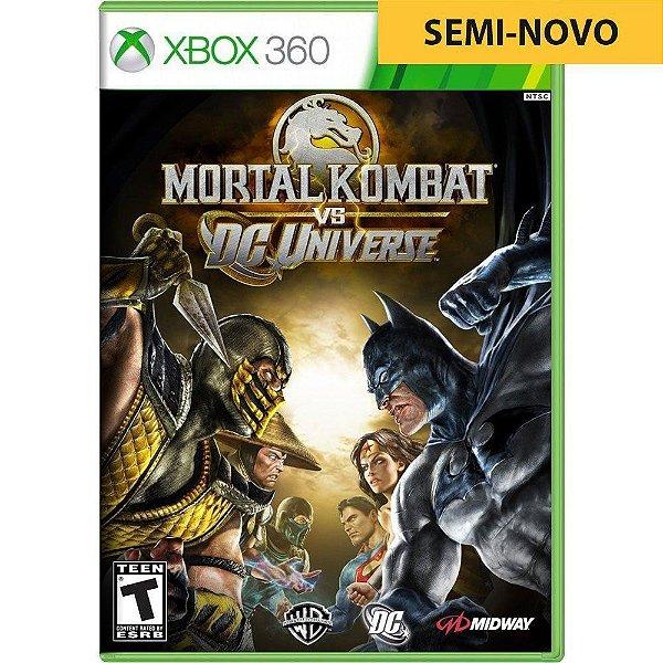 Jogo Mortal Kombat Vs DC Universe - Xbox 360 (Seminovo)