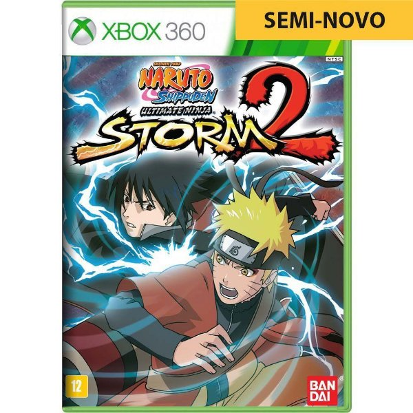 Jogo Naruto Shippuden Ultimate Ninja Storm 2 - Xbox 360 (Seminovo)