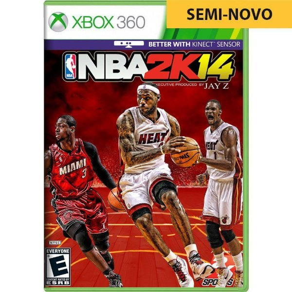 Jogo NBA 2K14 - Xbox 360 Seminovo